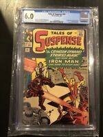 Tales of Suspense #52 CGC 6.0 Cream To Off-White Pages 1st Black Widow 4/1964