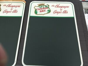 Vintage Canada Dry Sign Chalkboard