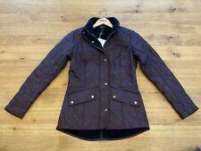 Barbour Ladies' Cavalry Jacket - Winter Blackberry Size UK10 - RRP £149 New AW20