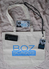 BOZ SCAGGS 2016 EXCLUSIVE VIP ONLY CONCERT PACKAGE TOTE KEYCHAIN LAMINATE NM