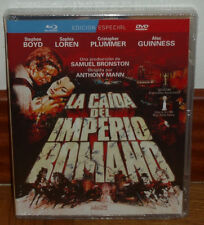 THE FALL OF THE EMPIRE ROMAN COMBO BLU-RAY+DVD NEW SEALED (UNOPENED) R2