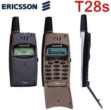 Original Ericsson T28 T28s Unlocked Mobile Cell Phone 2G GSM 900/1800 Black