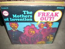 FRANK ZAPPA / MOTHERS OF INVENTION freak out ( rock ) 2lp stereo blurb