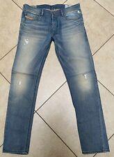 Diesel Jeans Tepphar R54F8 Stretch Slim Carrot Distressed Sz 32 X30