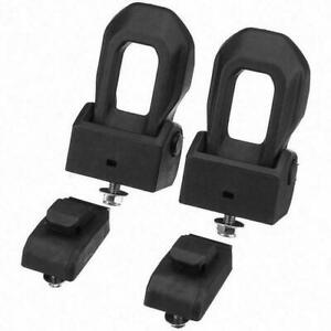 Front Pair Left & Right Hood Latch Catch & Bracket for Jeep Wrangler JL 2019-21
