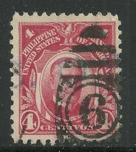 U.S. Possession Philippines stamp scott 291 - 4 cents issue of 1917 - #12