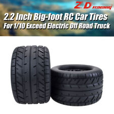 4x  ZD Racing RC Tires & Wheels for HPI HSP Savage TM Flux 1/10 Off Road Truck