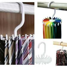 Adjustable Tie Belt Scarf Hanger Holder Rack Hook Ties Scarf For Organizer La