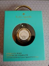 Kate Spade New York - Cell Phone Stability Ring - Gold & White - Nib