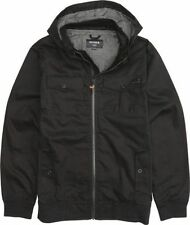 Nixon Captain Cotton II Jacket (S) Black S1628000-02