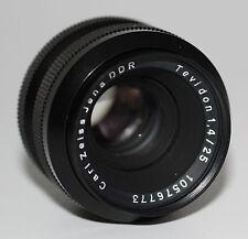 Carl Zeiss Jena DDR Objectif lens Tevidon 1,4/25 avec C-Mount connecteur