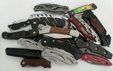 22 Bulk Lot of TSA Confiscated knifes (All Shown in images) Comes as shown