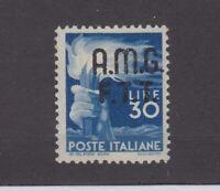 Italy Trieste 30 Lire AMG FIT O/P SG15 Cat £190 MH JK2401