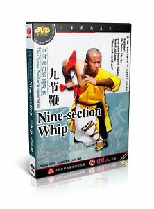 ShaoLin Kongfu Chinese Peculiar Weapon Series 9 section Whip by Shi Debiao DVD