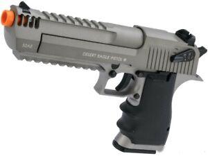 Full Auto CO2 gas blowback airsoft L6 Desert Eagle full metal tactical pistol