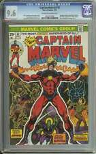 CAPTAIN MARVEL #32 CGC 9.6 OW/WH PAGES