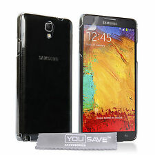 Yousave Accessories For Samsung Galaxy Note 3 Neo Clear Hard Case Cover + Film