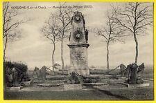 cpa 41 - VENDOME (Loir et Cher) MONUMENT du TEMPLE 1870 à l'Armée de la Loire