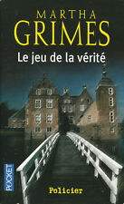 Livre Poche policier le jeu de la vérité Martha Grimes