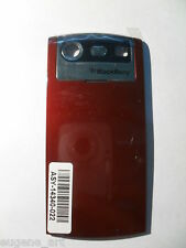 BlackBerry Pearl 8130 Red Bourgundy Battery Door Cover Back Housing OEM Original