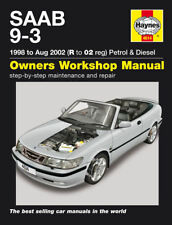 Saab 9-3 Petrol Diesel 1998-2002 Haynes Manual 4614 NEW