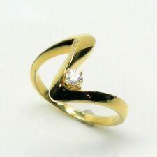 LADIES DIAMOND FASHION RING IN 14K YELLOW GOLD