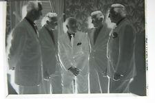 (1) B&W Press Photo Negative Mens Lions International Pin On Suit T1065