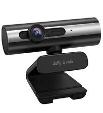 Webcam 1080P Full HD, Jelly Comb Computer Webcam USB Web Camera