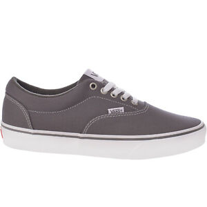 Vans Mens Doheny Low Rise Canvas Trainers Sneakers Shoes - Grey