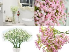 "Floral Kingdom artificial 26"" Baby's breath flowers gypsophila 5 Pack bundle"