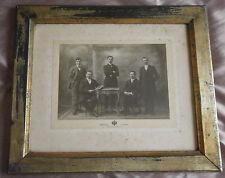 Photographie Mischkind Grand Prix 1911 ROUBAIX étiquette art nouveau style Mucha