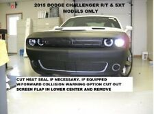 Lebra Front End Mask Cover Bra Fits 2015-2019 Dodge Challenger GT, R/T & SXT
