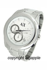 NEW ARMANI EXCHANGE CHRONOGRAPH DATE 50M MENS WATCH AX5002