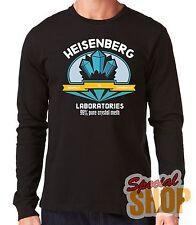 "CAMISETA MANGA LARGA""HEISENBERG RESPECT TO CHEMISTRIY 99% PURE""LONG SLEEVE"