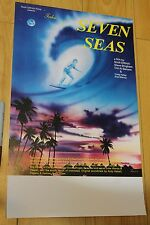 Tales from the Seven Seas - Dittrich 10.5x17in. O.G. 1981 Surfing Film Poster