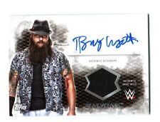 WWE Bray Wyatt 2015 Topps Undisputed Authentic Autograph Relic Card