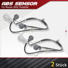2x ABS Sensor Raddrehzahlfühler Hinten Links & Rechts Nissan 350Z Z33 2002-2009