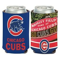 Chicago Cubs ~ (1) Wrigley Field Beer Can Coolie Holder Huggie ~ New!