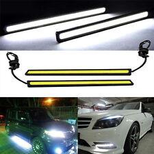 Waterproof 17cm COB Car LED Lights White 12V for DRL Fog Light Driving lamp