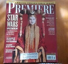 Star Wars, George Lucas, Liam Neeson, Natalie Portman - Premiere Magazine 1999
