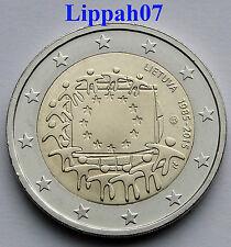 Litouwen speciale 2 euro 2015 Europese Vlag UNC