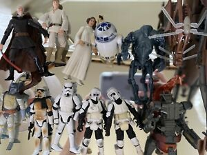 Lot of Star Wars action figures Hasbro 3.75 inch