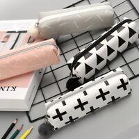 Storage Cosmetic Zip Box Coin Purse Makeup Pouch Canvas Pen Bag Pencil Case