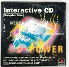 New listing PlayStation Interactive Sampler Vol. 4 (Sony PlayStation 1) Parrapa, etc. TESTED