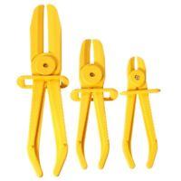 3Pcs/Set Flexible Hose Clamp Kit Line Pipe Pinch Off Plier Brake Fuel Water Y8V3