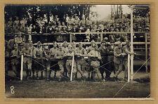 Cpa Carte Photo militaire fête du 120e Régiment d'infanterie de Stenay 1921 m340