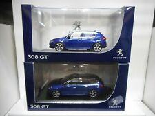 PEUGEOT 308 GT 308 GT SW BLEU NOREV 1:43