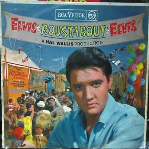 ELVIS PRESLEY ROUSTABOUT LP RCA VICTOR RED Spot RD7678 1964