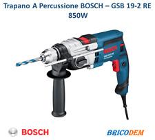 BOSCH GSB 19-2 RE TRAPANO A PERCUSSIONE linea blu+ VALIGETTA Professionale