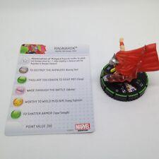 Heroclix Avengers Assemble set Ragnarok #053b Prime figure w/card!